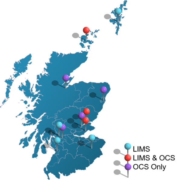 Our solutions widely deployed across NHS Scotland Health Boards