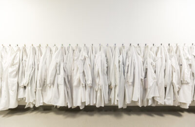 Southmead Hospital lab coats